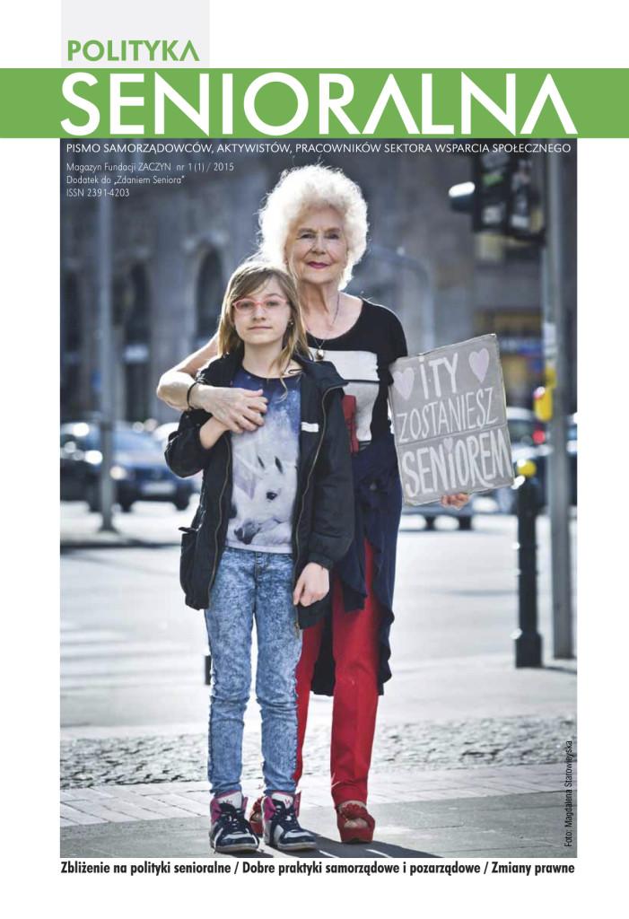 Polityka Senioralna-magazyn-numer-1-Fundacja-Zaczyn-okladka